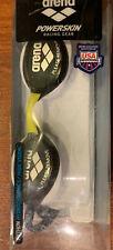 ARENA  - PYTHON - SMOKE WHITE BLACK Goggles  Powerskin Racing Gear