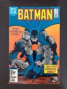 BATMAN #402  DC COMICS 1986 VF  2ND PRINTING?