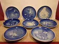 "Bing & Grondhah 8 Mother's Day Plates 6"" 1972 - 1978 and 1970"