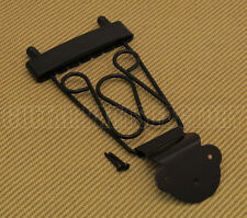 TP-DTL-B Black Deluxe Long Trapeze Tailpiece for Thin Hollowbody Guitar