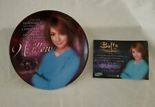 More details for buffy the vampire slayer series 1 willow collectors plate & coa boxed mint