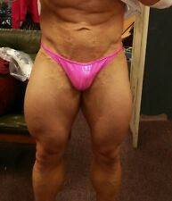 NEW Mystique Competition Posing Body Building Trunks - Scrunch Back