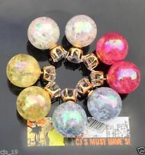 Acrylic Crystal Stud Costume Earrings
