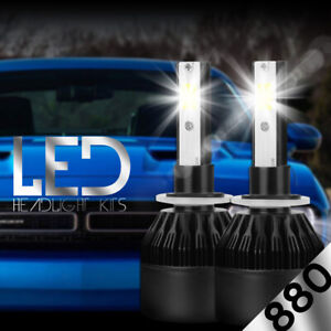 XENTEC LED HID Foglight kit 881 White for 1986-2005 Cadillac DeVille
