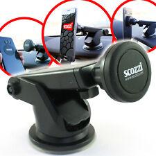 scozzi®Handyhalterung Auto Magnet Armaturenbrett Universal KFZ Halter Smartphone