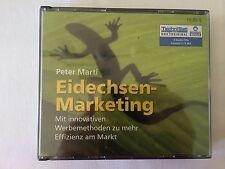 EIDECHSEN-MARKETING - PETER MARTI - HÖRBUCH - 3 AUDIO-CD's - NEU & OVP