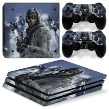 COD Ghosts PS4 Pro Protective Skin Stickers Console & 2 Controllers - #0002