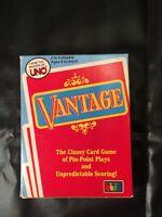 Vantage Card Game 1985 Vintage Cards NEW NIP Makers of UNO