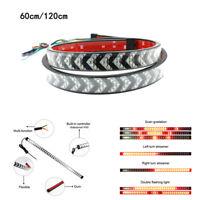 Car LED Flexible Strip Tail Light Bar Brake Running Turn Signal Flowing Lamp