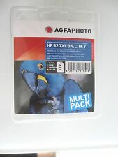 AGFA PHOTO ORIGINAL HP 920 XL SET BK C M Y officejet  7500 WF 6500 700