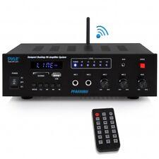 Pyle PFA600BU Wireless Bluetooth Karaoke Amplifier Receiver System, 300 Watts
