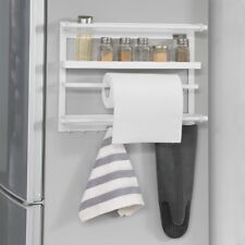 SoBuy® Étagère à épices Étagère à suspendre pour réfrigérateur metal FRG247-W FR