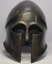 Solid bronze Greek Corinthian helmet armor armour in the finest style Spartan