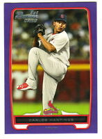 2012 Bowman Prospects PURPLE BP108 CARLOS MARTINEZ RC St Louis Cardinals