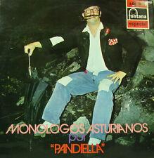 "PANDIELLA - MONOLOGOS ASTURIANOS LP 12"" SPAIN 1971"