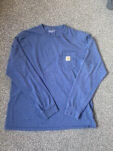 Carhartt Long Sleeve T Shirt Excellent Conditon Size XL