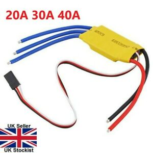 20A, 30A, 40A Brushless Motor Speed Controller ESC RC Drone Plane Quadcopter