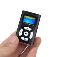 MP3 Stereo Music Player Digital LCD Screen Mini Clip Support 32GB Micro SD Gifts