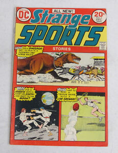 STRANGE SPORTS #2 DECEMBER 1973 BY DC COMICS VERY GOOD / FINE (5.0)