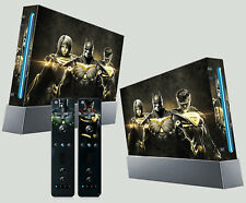 Injustice Legends Batman Superman Supergirl HEROES NINTENDO WII Pegatina Skins