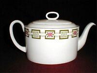 Susie Cooper Wedgwood Bone  China #C2074 ATHENA Teapot w Lid  (loc-big)