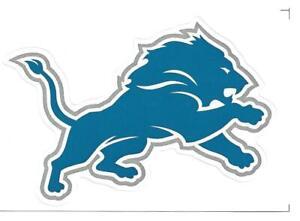 (27) Detroit Lions NFL Logo Vending Machine Stickers