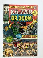 Astonishing Tales Featuring Kazar and Dr.Doom Issue #3 Dec 1970 Marvel Comics