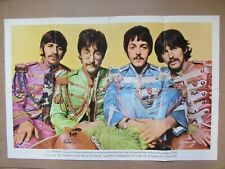 THE BEATLES ORIGINAL 1967 U.K. FAN CLUB POSTER