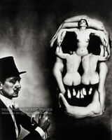 1951 Salvador Dali's Skull of Nudes Photo - Naked Women Bizarre Odd Strange B&W