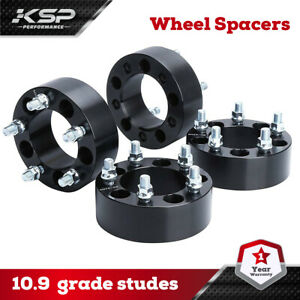 "4x 2"" Wheel Spacers Adapters 5x4.5 fits Jeep Wrangler TJ, YJ, XJ, KJ, KK, ZJ, MJ"