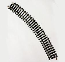 BINARIO CURVO HO SC 1:87 TRACK MODELLISMO FERROVIARI 250mm