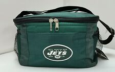 NFL New York Jets Lunch Bag - Insulated Box Tote - 6-Pack Cooler
