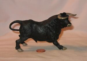 Black Andalusia Bull Solid PVC Figure; By Papo 2005