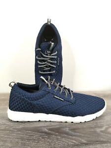 DVS Shoes Premier 2.0 Blue Weave Suede Men's Size 13us Like New Vapor Cell