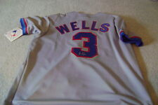 Vernon WELLS rookie signed autographed  jersey  auto