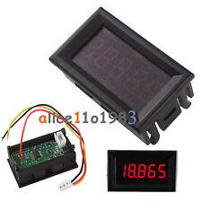 """Red 0.36""""  LED 5 Digit DC 0-33.000V Digital Voltmeter Voltage Meter Car Panel"""