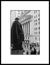 Fine Art Photography, NYSE, Wall Street, New York City, Black & White.