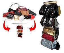 Purse Store Storage Bag Hanging Handbag Organizer Women Purses Closet As Seen TV