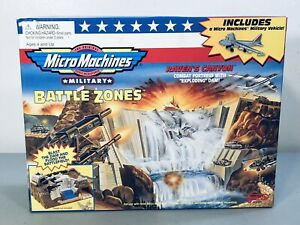 1998 Galoob Micro Machines Military Battle Zones RAVEN'S CANYON 65584 ~NEW!