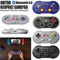8Bitdo N30 Pro 2 Bluetooth Gamepad For Nintendo Switch Windows MacOS Android PI
