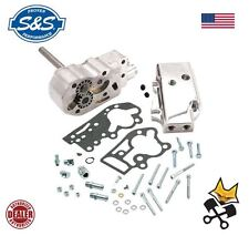 S&S POLISHED BILLET OIL PUMP KIT FOR HARLEY 1970-91 SHOVELHEAD EVO 31-6203