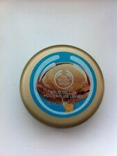 The Body Shop Wild Argan Oil Solid Lip Balm Tin NEW & Sealed 20ml