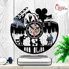 Movie Clock Vinyl Record Wall Art Cinema Home Decor Christmas Film Director Gift