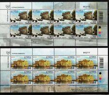 Cyprus 2017 Europa Cept castle / architecture MNH mini sheet