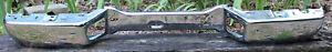 Rear Step Bumper Face Bar 04-12 Chevy Colorado & GMC Canyon Part # GM1102549DSC
