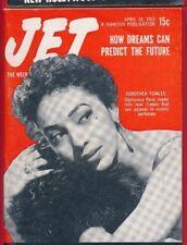 Jet Magazine 4/16/1953 Dorothea Towles Sex In Bottles dreams can predict future