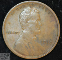 1917 P Lincoln Wheat Cent, Penny, Extremely Fine Condition, Free Ship,C4856