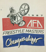 1987 AFA Freestyle Masters BMX Championships T-Shirt Men's Medium *vintage rare