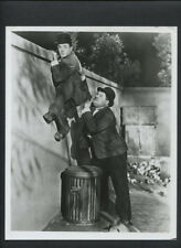 LAUREL & HARDY PHOTO - 1930 NIGHT OWLS - HAL ROACH SHORT - 1960s REPRINT