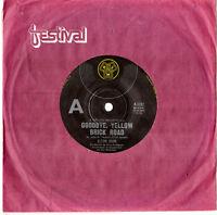 "ELTON JOHN - GOODBYE, YELLOW BRICK ROAD / SCREW YOU -7"" 45 VINYL RECORD 1973"